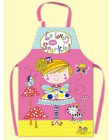 Childrens Apron Fairy and Toadstools