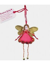Image of Christmas Fairy Hanging Doll