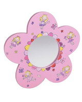 Flower Fairy Shaped Mirror