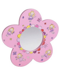 Image of Flower Fairy Shaped Mirror