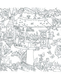 Image of Tree House Doodles with pens