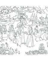 Princess Garden Doodles with Pens