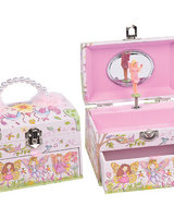 Fairy Flower Wood Jewellery Box