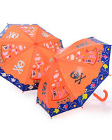 Colour Changing umbrella with pirate ship design