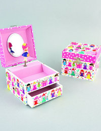 Image of Musical Jewellery Box - Fairy Palace
