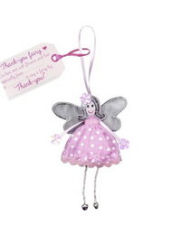 Image of Thank You Fairy Hanging Fairy Doll