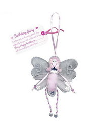 Image of Birthday Fairy Hanging Fairy Doll