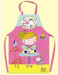 Image of Childrens Apron Fairy and Toadstools