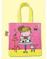 Fairy and Toadstool Tote Bag