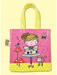 Image of Fairy and Toadstool Tote Bag