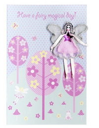 Image of 'Fairy Magical Day' Forest Card
