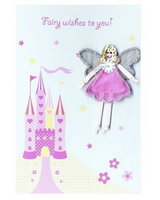 'Fairy Wishes' Castle Card