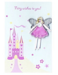 Image of 'Fairy Wishes' Castle Card