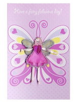 'Fairy Wishes' Fairy Wings Card