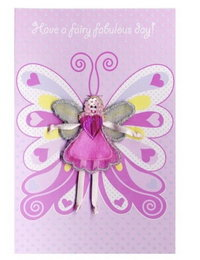 Image of 'Fairy Wishes' Fairy Wings Card