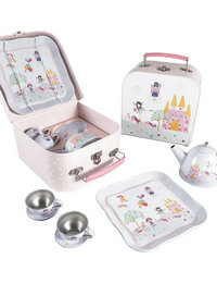 Image of Tea Set 7 pc Fairy Unicorn