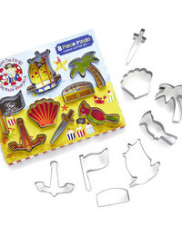 Image of Captain Flapjack Cookie Cutter Set