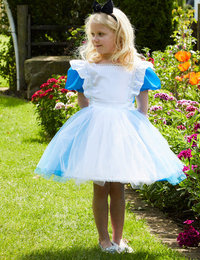 Image of Blue Alice with Headband