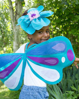 Felt Applique Wings and Headband Set