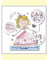 Princess Bubbles Card
