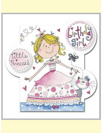 Image of Princess Bubbles Card