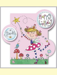 Image of Fairy Bubbles Card