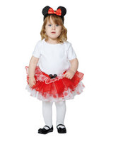 Red Minnie Tutu and Headband