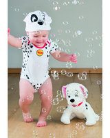 101 Dalmations Patch Jersey bodysuit and hat