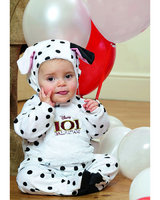 101 Dalmation, Patch All in One Romper with Feature Hat