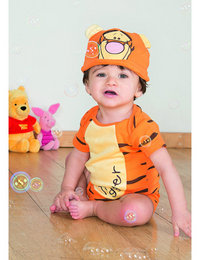 Image of Tigger Jersey Bodysuit and Hat