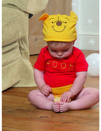 Image of Winnie the Pooh Jersey Bodysuit and Hat