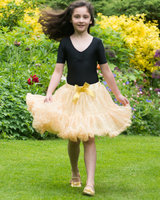 Gold Sequin Frothy Tutu