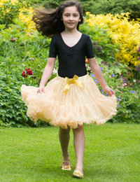 Image of Gold Sequin Frothy Tutu