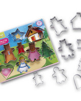 Fairytale 8 piece cookie cutter set