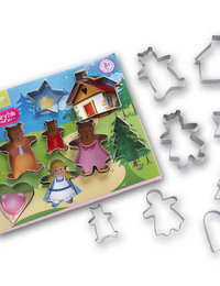 Image of Fairytale 8 piece cookie cutter set