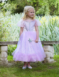 Image of Pink Glitter Princess with wand