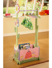 Image of Magic Garden Clothes Rail with Hangers