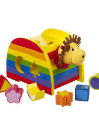 Image of Lion Shape Sorter