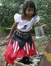 Image of Reversible Princess/Pirate Costume