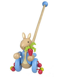 Image of Peter Rabbit Push Along