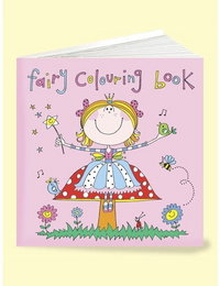 Image of Square Fairy Colouring Book