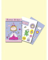 Princess Sticker Match Note Pads
