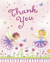 Garden Fairy Thank yous - Pack of 8