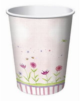 Garden Fairy Cups - pack of 8