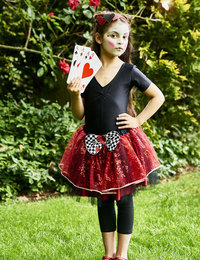 Image of Queen of Hearts Tutu with headband